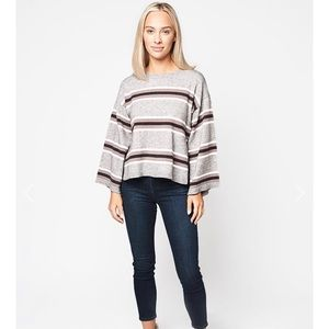 NWT Cupcakes and Cashmere amour sweater